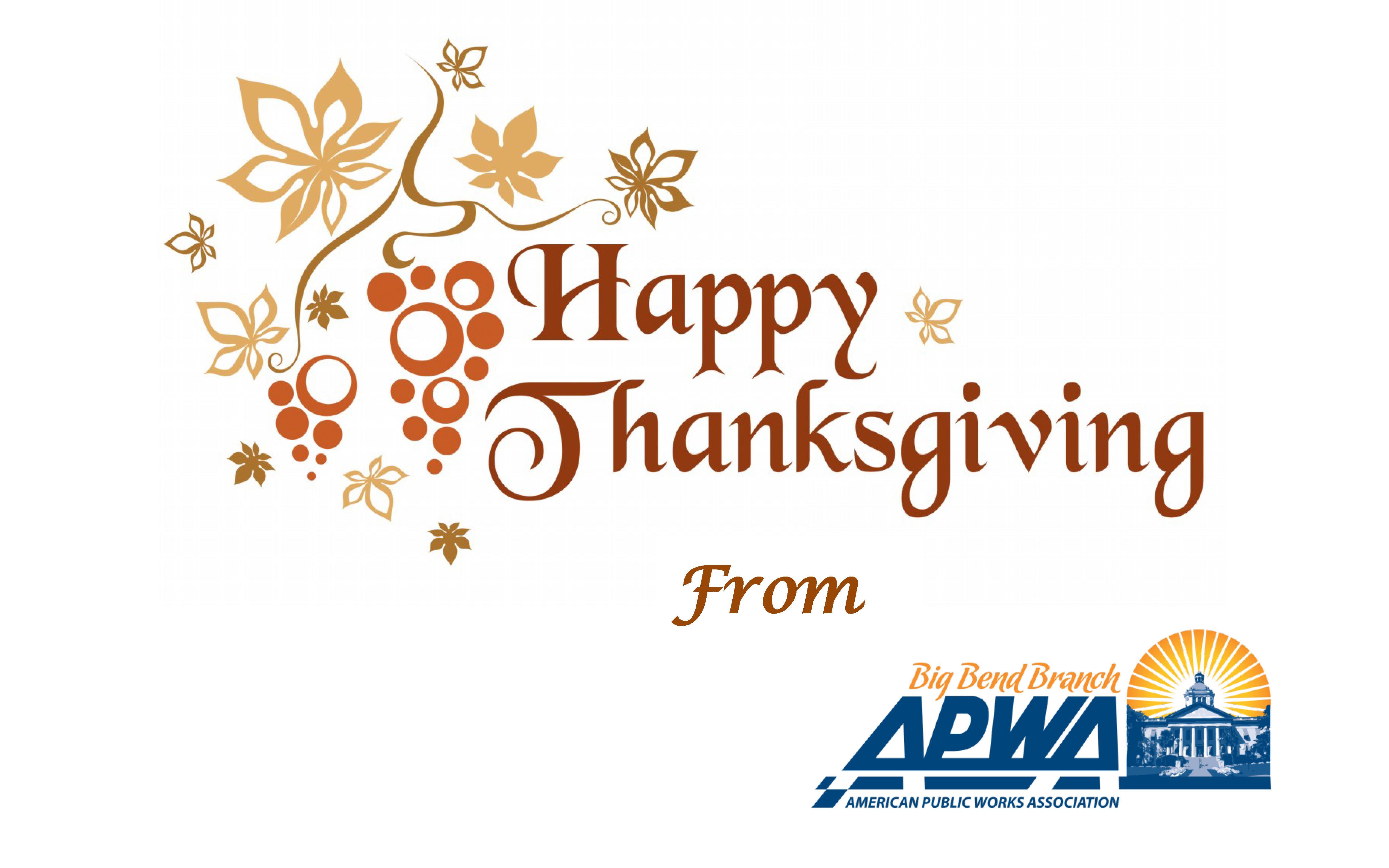 Thanksgiving APWA